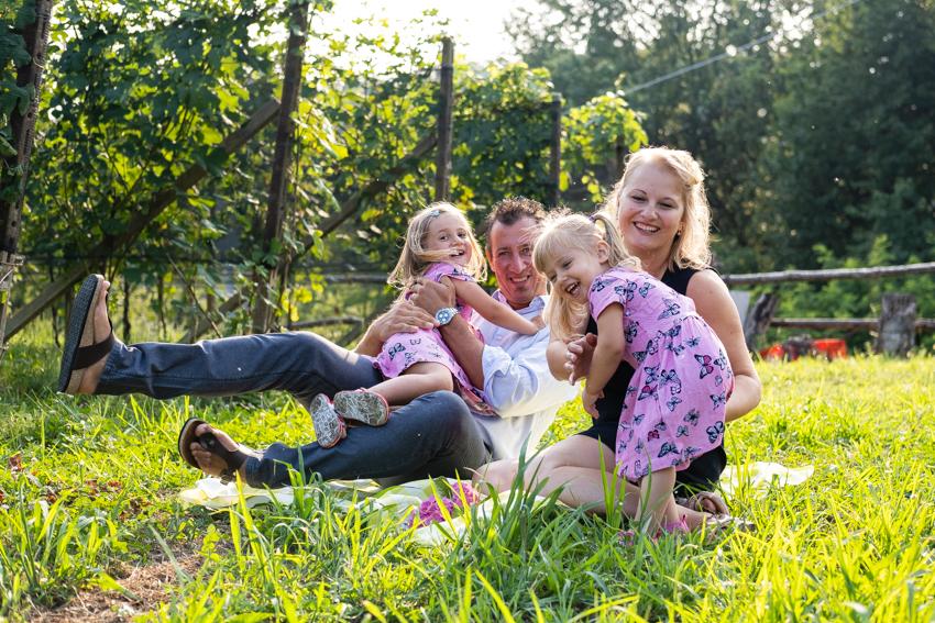 Scegliere la location per le foto di famiglia
