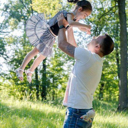 Il momento migliore per le foto di famiglia