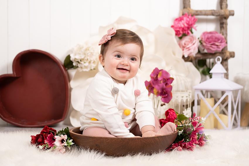 Servizio fotografico Sitter dai 6 mesi ai 11 mesi