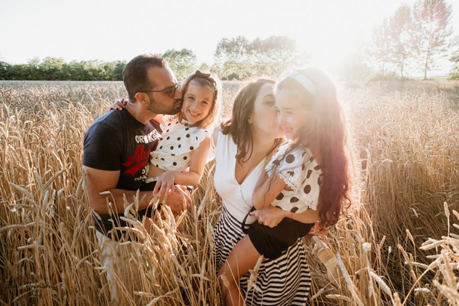Servizio fotografico Family All'aperto in promozione